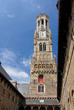 Belfort Spire, Bruges Royalty Free Stock Photos