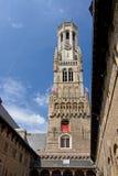 Belfort Spire, Bruges Royalty Free Stock Photos
