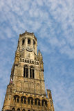 Belfort Tower, Bruges, Belgium Stock Images