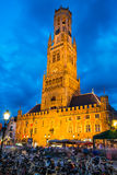 Belfort tower, Bruges, Belgium Royalty Free Stock Photo