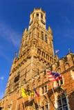 Belfort tower, Bruges, Belgium Stock Photos