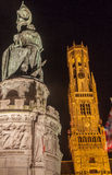 Belfort Tower Bruges Royalty Free Stock Photo