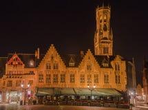 Belfort Tower Bruges Stock Image