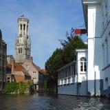 Belfort tower in Bruges Stock Photo