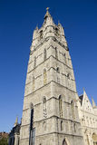 Belfort Tower in Ghent Royalty Free Stock Image