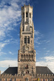 Belfort w Bruges Zdjęcie Stock