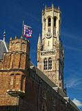Belfrey Bruges 04 Стоковые Изображения