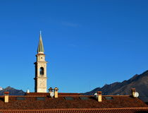Belfri e telhados Imagem de Stock
