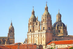 Belfries of Salamanca Royalty Free Stock Image