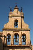 Belfry at Aracena castle. In Spain Stock Images