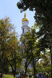 Belfry of the Assumption Cathedral, Kharkov, Ukraine Stock Photography