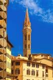Belfry of Badia Fiorentina in Florence, Italy Stock Photo