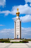 Belfry on the battlefield under Prokhorovka Royalty Free Stock Image