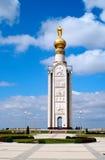 Belfry on the battlefield under Prokhorovka Royalty Free Stock Image
