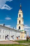 Belfry. Bogoyavlensky Staro-Golutvin monastery. Bogoyavlensky Staro-Golutvin monastery. Founded in the end of XIV century by  Sergius of Radonezh. Kolomna Stock Photos
