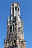 Belfry Bruges Стоковое Изображение