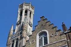 Belfry Bruges Стоковое Изображение RF