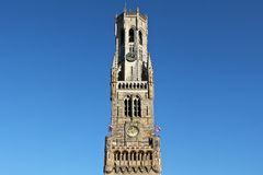 Belfry of Bruges Stock Photos