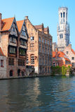 Belfry in Bruges Royalty Free Stock Photos