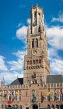 The Belfry of Bruges, Brugge, Belgium Royalty Free Stock Photo