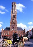 The Belfry, Bruges. Royalty Free Stock Photos