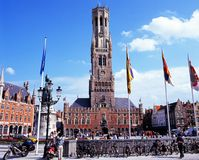 The Belfry, Bruges. Stock Photography