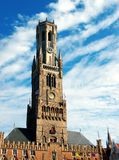 Belfry of Brugge Royalty Free Stock Photos
