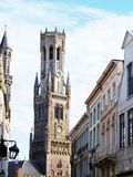 Belfry of Brugge Stock Photography
