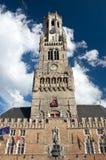 Belfry in Brugge, Belgium Stock Image