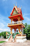 Belfry buddhist temple of thailand. Belfry buddhist temple of thai royalty free stock photo