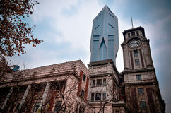 Belfry and Bullet building Royalty Free Stock Photo