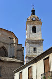 Belfry of the Cathedral of Ciudad Real, Spain Royalty Free Stock Image