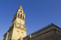 Belfry of the cathedral-mosque of Cordoba Royalty Free Stock Photos