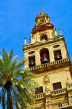 Belfry of Cathedral-Mosque of Cordoba, Spain Stock Images
