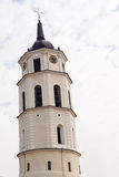 Belfry of cathedral of Vilnius Royalty Free Stock Photo