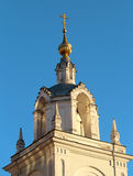 Belfry in the center of Moscow Stock Photography
