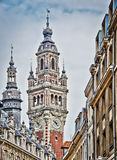 The belfry of the Chamber of Commerce - Lille Royalty Free Stock Image