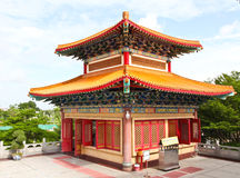 Belfry of Chinese temple Royalty Free Stock Photo