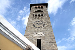 Belfry of the Church Stock Images