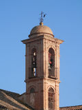 Belfry on Church in Antequera Stock Photography