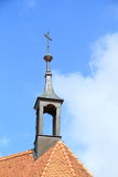 Belfry of church in Chroboly Stock Photo