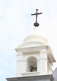 Belfry of a church in Manado Stock Images