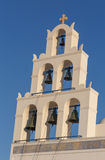 Belfry of church in Oia Royalty Free Stock Photo