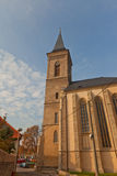 Belfry of Church of Our Lady Na Nameti in Kutna Hora Royalty Free Stock Photography