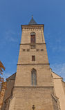 Belfry of Church of Our Lady Na Nameti in Kutna Hora Stock Photography