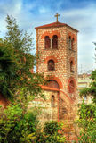Belfry of the Church of Saint Demetrius in Thessaloniki Royalty Free Stock Photos