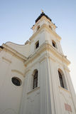 Belfry. On Church of St.Filip and Jacob royalty free stock photography