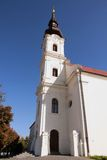 Belfry on Church. In Vukovar royalty free stock images