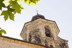 Belfry in Collegiate Church of Santa Maria Stock Image