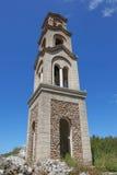 Belfry der Kirche Nectarios, Rhodos stockfotos